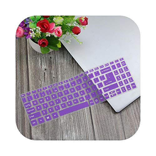 Laptop Notebook Keyboard Cover Skin For Acer 15.6'' Sf315 Swift 3 Series Sf315 51G Sf315 52G Sf315 41G Sf315 51G Sf315 52 Tpu-Purple-