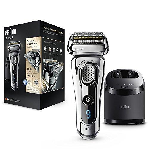 Preisvergleich Produktbild Braun Series 9 9295 CC Elektrischer Rasierer Technologie Wet & Dry und System Clean & Charge Chrom Premium