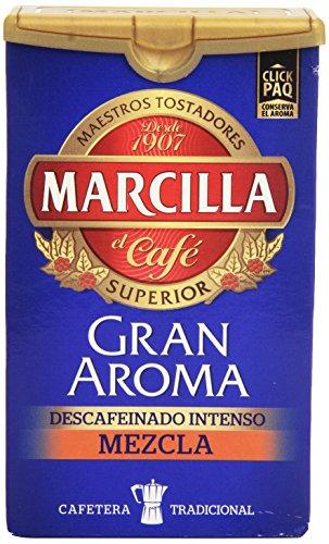 Marcilla Gran Aroma Café Molido Descafeinado Mezcla, 200g