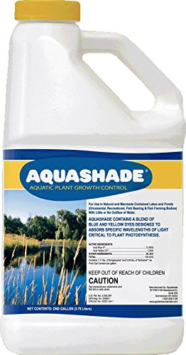 Applied Biochemists 353236 18101 Aqua Shade Organic Plant Growth Control, 1 Gallon, Blue
