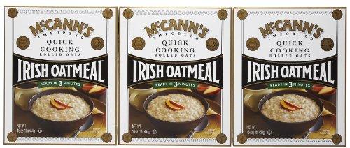 McCann's Quick Cooking Irish Oatmeal, 16 oz, 3 pk