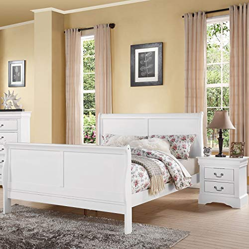 Acme Furniture AC-24510 Bed, Full, White