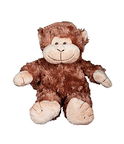 Beary Fun Friends Recordable 8' Plush Mookey The Monkey w/20 Second Digital Recorder for Special Messages, Rymes or Songs
