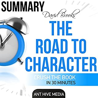 David Brooks' The Road to Character - Summary & Analysis audiobook cover art