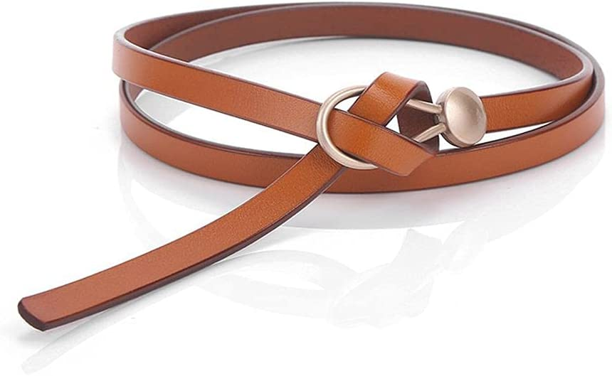 GUITU New Ranking TOP1 Solid Color Vintage Waist Belt Strap Max 46% OFF Leather Female Th