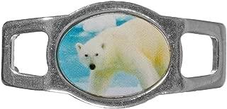 Paracord Planet Animal Charms – Oval (Polar Bear)