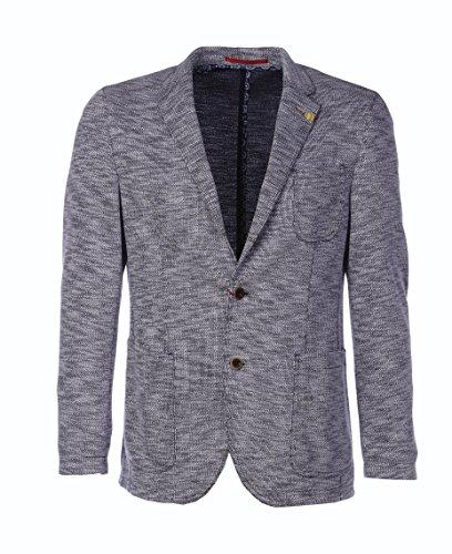 Benvenuto Herren Sakko Jacket Ronaldo Black Label grau meliert 62471-42165-1254 Größen 48 bis 56 (50)