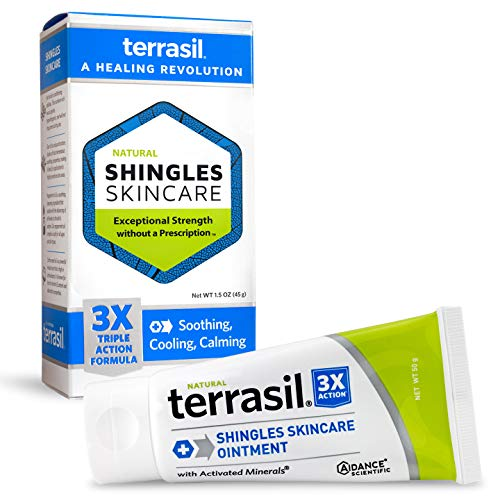 Shingles Treatment Cream - 3X Triple Action Patented Natural...