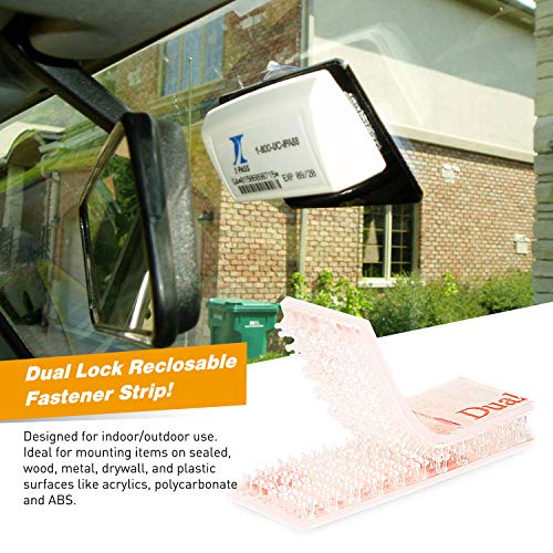 GOOACC EZ Pass Mounting Kit - 2 Sets of Peel-and-Stick Strips-EZ Pass/I-Pass/SunPass Adhesive Strips with Alcohol Prep Pad Photo #7