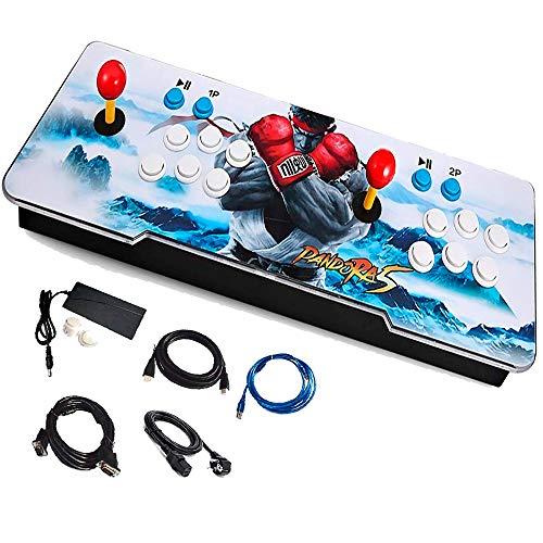 Tablero Arcade Videojuegos Consola de Videojuegos 999+ Juegos Joystick Palanca Pandora 5s TV PC Gamer 2 Jugadores Divertido