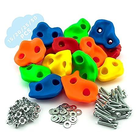 GO!elements Klettergriffe für Kinder inkl. Befestigungsmaterial