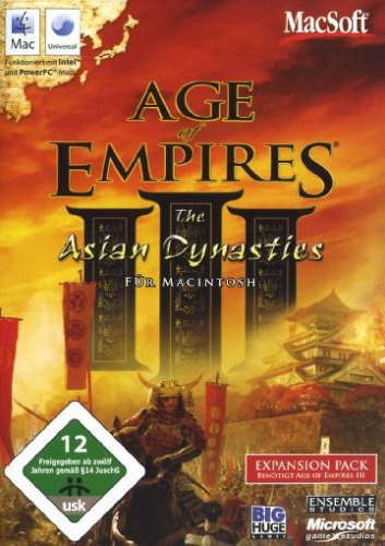 Age of Empires III: The Asian Dynasties - Erweiterungspack [Importación alemana]