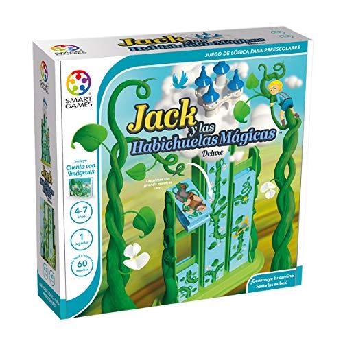 smart games SG026ES Jack y Las habichuelas mágicas smart games Juego Educativo niño, Juegos para niños 4 años, Juegos de ingenio 3D para Edad Preescolar