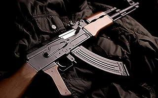 DIOPCCE Rompecabezas de Madera 1000 Piezas - Patrón de Pistola de Fusil Ak-47 de Gran tamaño 1000 Piezas de Rompecabezas de Madera Decoraciones hogar