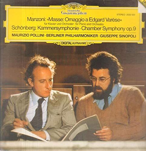 Masse / Kammersymphonie op.9 [Vinyl LP]