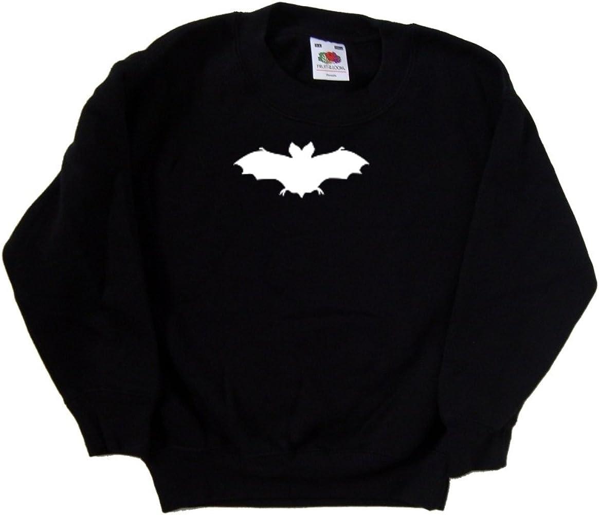 Bat Halloween Max 81% OFF Black Sales results No. 1 Kids Sweatshirt