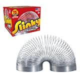The Original Slinky Walking Spring Toy, Metal Slinky, Fidget Toys, Party Favors and Gifts, Toys for...