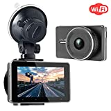 SJCAM Dash Cam WiFi Full HD Autokamera 1080P DVR Road Video Recorder 3.0 Bildschirm...