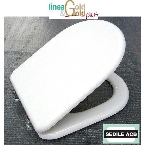 Sedile Compatibile con ESEDRA di Ideal Standard Prodotto Non Originale - Marca ACB Linea Gold