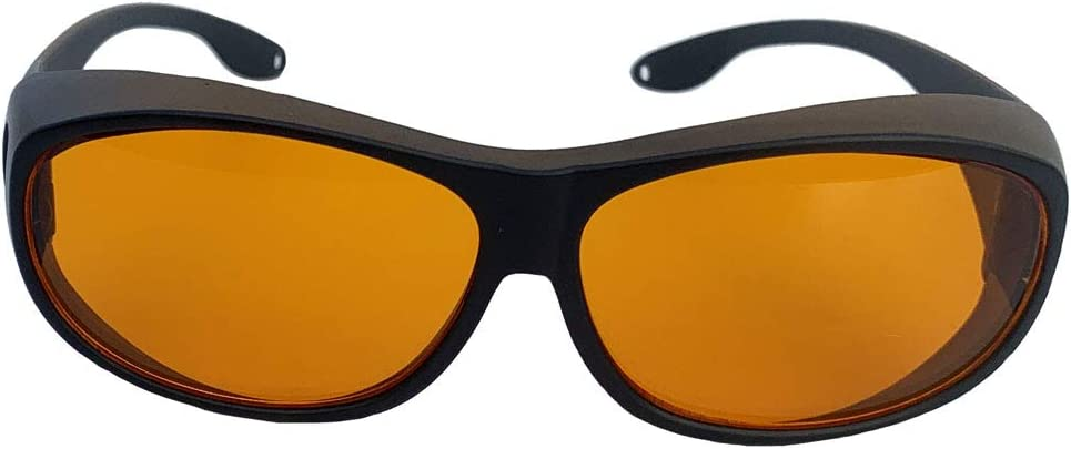 Orur 190-490 nm - Gafas de protección industriales (grabado láser, color marrón