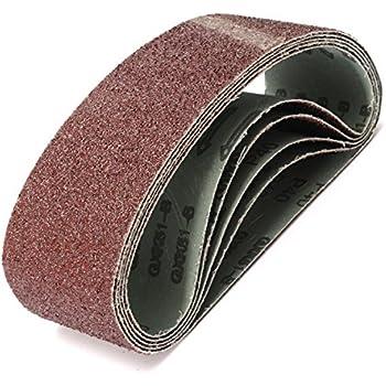 grano 40-1000 686 x 50 mm 10 unidades ChenXi Shop Cinturones de lija abrasivos de aluminio