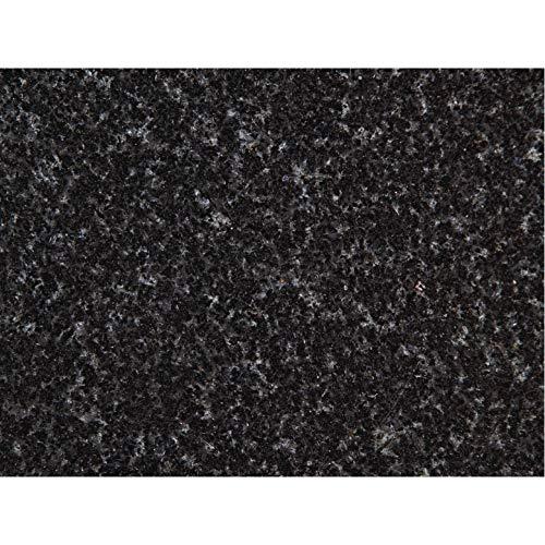 PrintYourHome Fliesenaufkleber für Küche und Bad | Dekor Granit Schwarz | Fliesenfolie für 15x20cm Fliesen | 8 Stück | Klebefliesen günstig in 1A Qualität