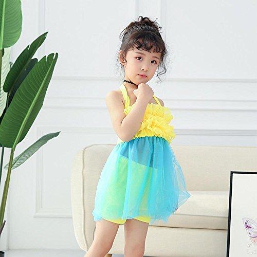 Axiba Children's badpak meisje meisjes meisjes ' Siamese jurk 4-8 jaar oud A