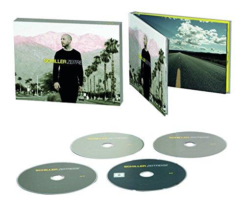 Zeitreise – Das Beste von Schiller (3CD + DVD im Hardcoverbook Limited Super Deluxe Edition)
