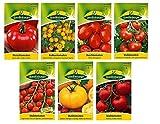 7 variedades | Surtido de semillas de tomate | a partir de ahora el precio de promoción de invierno