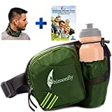 Shimonfly Hiking Waist Pack, Dog Fanny Pack with Water Bottle Holder, Waist Bag