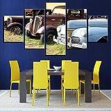 azioni per la casa quadri astratti moderni quadri su tela foto auto retrò soggiorno poster stampa hd senza cornice 40 * 60 40 * 80 40 * 100