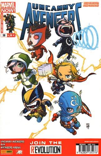 Uncanny Avengers 03 Cover Librairie