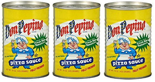 Don Pepino Original Pizza Sauce (Pack of 3) 15 oz Cans