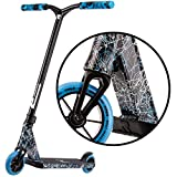 Type R Complete Pro Scooter - Pro Scooters - Pro Scooters for Adults / Pro Scooters for Kids - Quality Scooter Deck, Pro Scooter Wheels, Pro Scooter Bars - Awesome Colors (Black/Blue/White)