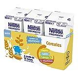 Nestlé Junior Junior Crecimiento 1 + Cereales A Partir De 1 Año 4500 g - Pack de 24 bric...