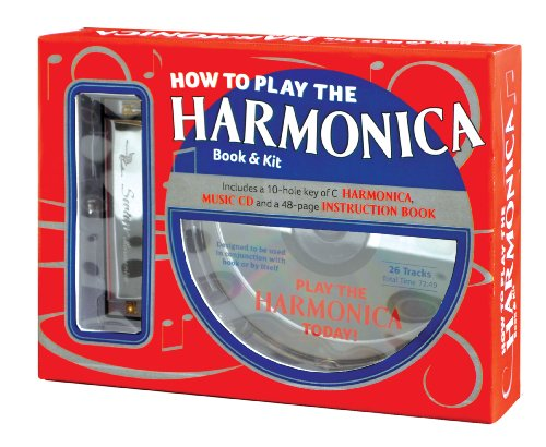 How To Play The Harmonica Book And Kit