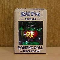 ラット フィンク フィギュア ボビング ドール サーフボード Rat Fink レジン製 アメリカ トイ ドール