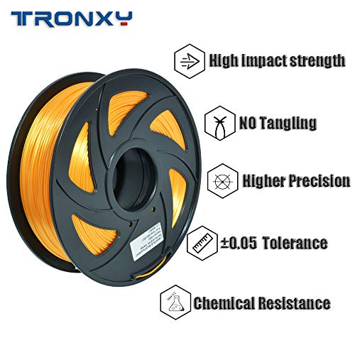 TRONXY 3D Printer, Large 3D Printer XY-2 Pro 10.04x10.04x10.24 in, with UL Certified Power Supply 24V/360W, Print Accuracy 0.1~0.3 MM, Nozzle Diameter 0.4 MM, DIY FDM 3D Printer for Kids.