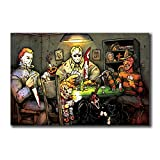 Michael Myers vs Jason Voorhees SLASHERS Carteles e impresiones de películas de terror Pop Hot Art...