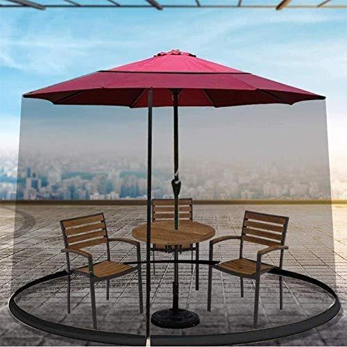 ZMHVOL Al Aire Libre Paraguas Sombrilla for el Patio Sol Parasol Cubierta de Mesa mosquitera Pantalla Bug Red Cubierta for Acampar al Aire Libre (Tamaño: 275 * 230 cm) ZDWN (Size : 325 * 230cm)