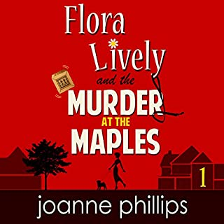 Flora Lively: Murder at the Maples cover art