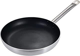 Nonstick Non-Coated Skillets Saucepan Sauciers Woks Sauté Pans Omelet Pans Crepe Pans,22cm