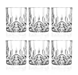 RCR Crystal Opera Whisky Tumblers Set Of 6 Glasses