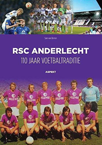 copa RSC Anderlecht 1962-63 Football Shirt Camiseta Retro con Cuello