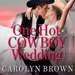 One Hot Cowboy Wedding audiobook cover art