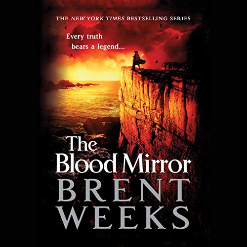 The Blood Mirror audiobook cover art