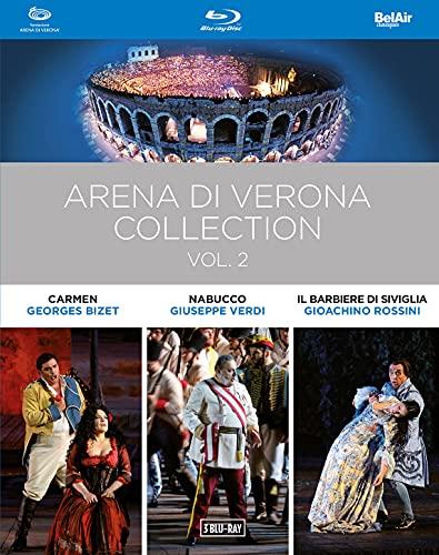 Arena di Verona Collection, Vol. 2 - Carmen / Nabucco / Il barbiere di Siviglia (Arena di Verona, 2014-2018) (3-DVD Box Set) [Blu-ray]