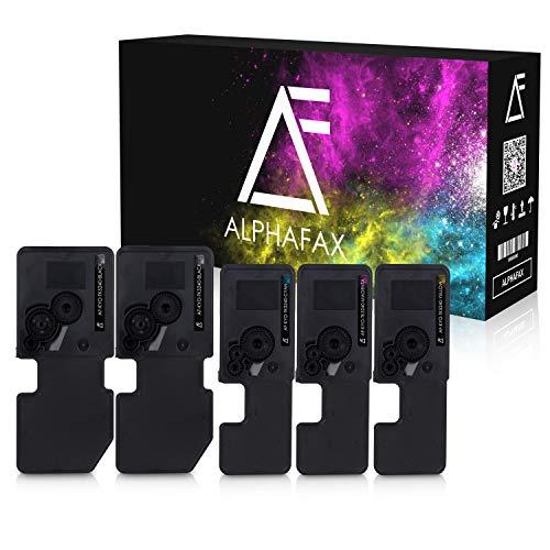 5 Alphafax Toner kompatibel mit Kyocera TK-5240 für Kyocera Ecosys P5026cdw M-5526cdn M-5526cdw P-5026cdn