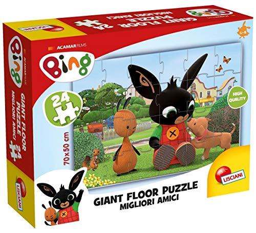 Lisciani Giochi, 75812, Bing, Giant Floor Puzzle, Puzle mejores amigos, 24...