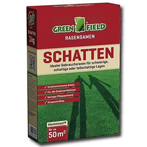 Greenfield 62070 1 kg de semences de gazon d'ombre pour ca. 50 m²